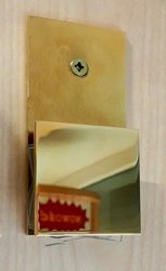 45x45 180°  Polish Brass Shower Clamp