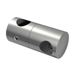 Double Crossbar Holder for Ø12mm pipe/Ø 12 mm/ AISI 304/SATIN