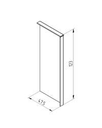 End  Clamp of U Type balustrade Profile ETP.002.02