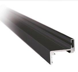 Z type Black Profile Set for Glass Door Frame, H=2300 mm