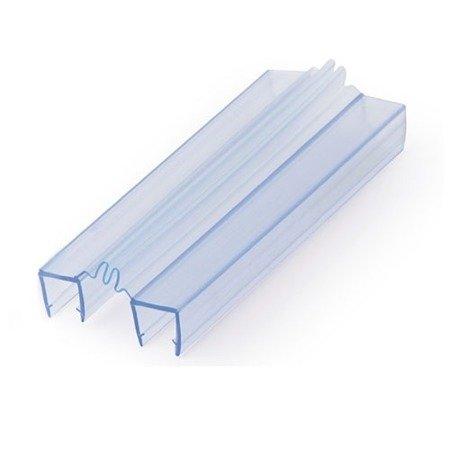 Shower Glass Door Seal  (Glass-to-Glass ) - 8 mm