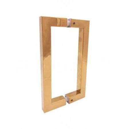 22 cm Handle for Glass Door / Brass Polish