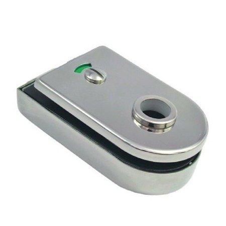Bathroom Glass Door Lock with Blockade Function (without Handle)