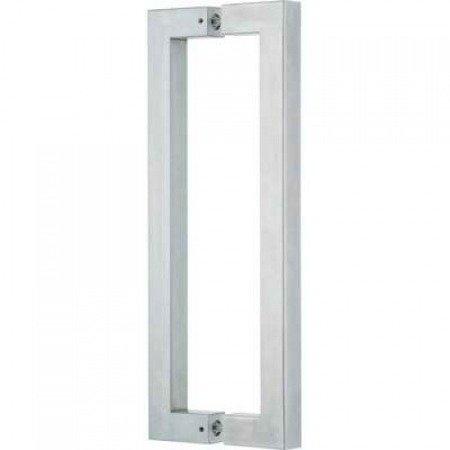 Glass Door Handle / Polish, Satin, L=475 mm
