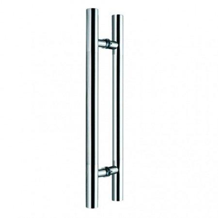 Glass Door Handle,/Satin, L=1000 mm
