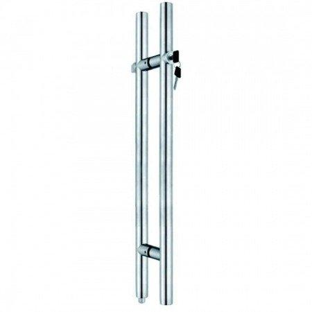 Glass Door Handle with a Lock , L=1500 mm