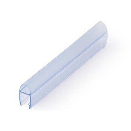 """Glass Shower """"Bubble"""" Seal  (Wall-to-Glass )"""