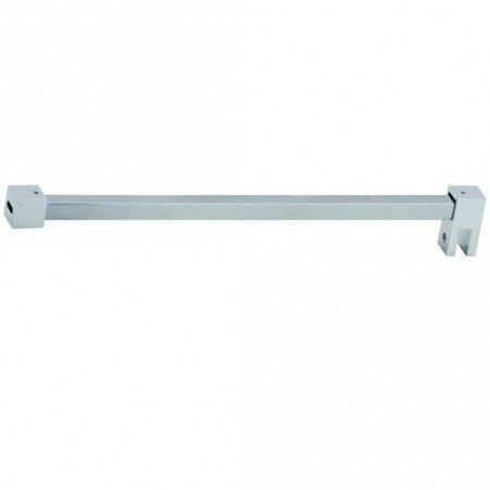 Shower Support Bar Kit, L=1 m / Polished Chrome