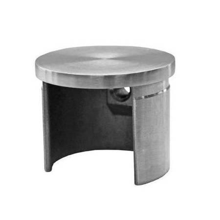 Side Cap for Ø 42 mm Round  Glass Balustrade  Handrail PBO-02